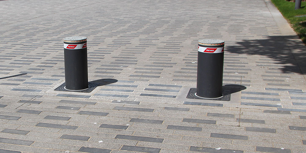 Bornes escamotables de parking - SMF Services
