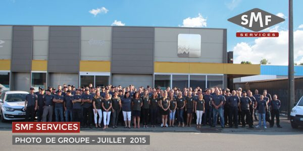 Photo de groupe de SMF Services