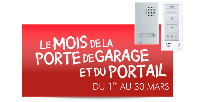 Portes de garage et portails archives smf services for Porte de garage en promotion
