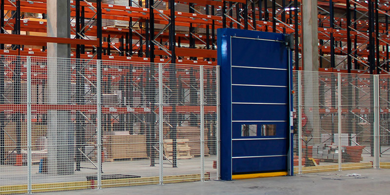 Portes de garage et portails archives smf services - Porte de garage industrielle occasion ...